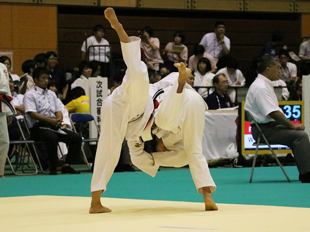 48kg級 古川舞 vs 小松涼