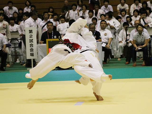 63kg級 富菜月 vs 岡田萌