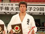 男子100kg超級優勝 七戸龍選手