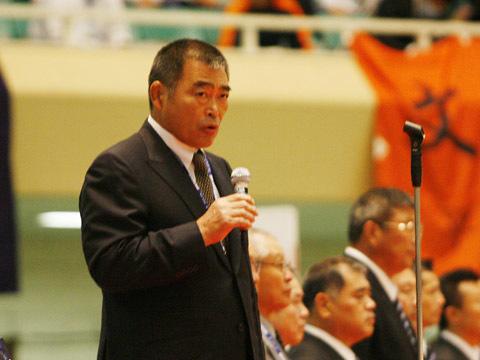 佐藤大会会長の挨拶