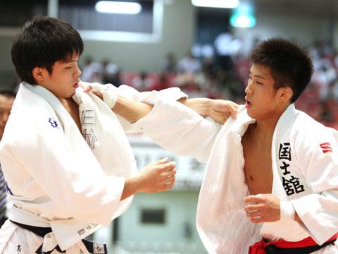 男子60kg級準決勝 志々目徹−宮本拓実�@