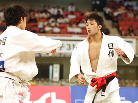 男子60kg級決勝 木戸慎二−志々目徹�A