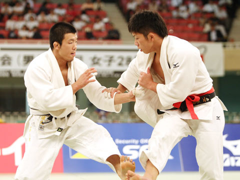 男子66kg級決勝 小寺将史−��上智史�@