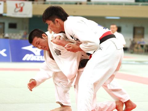 男子66kg級決勝 小寺将史−��上智史�A