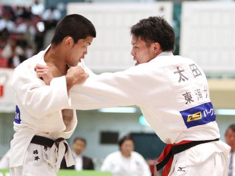 男子73kg級準決勝 太田慶一−大野将平�@