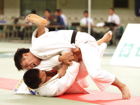 男子73kg級決勝 太田慶一−土井健史�A