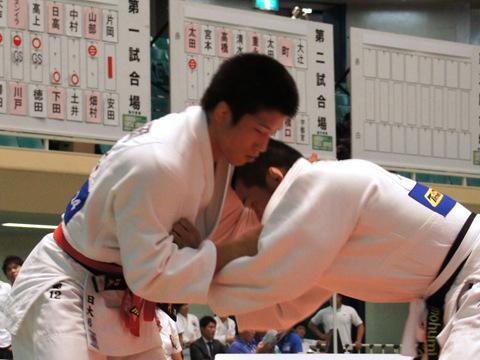 男子81kg級準決勝 片岡仁−安田知史�@