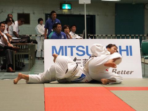 女子63kg級準決勝 大川愛−藤田ひろみ�A