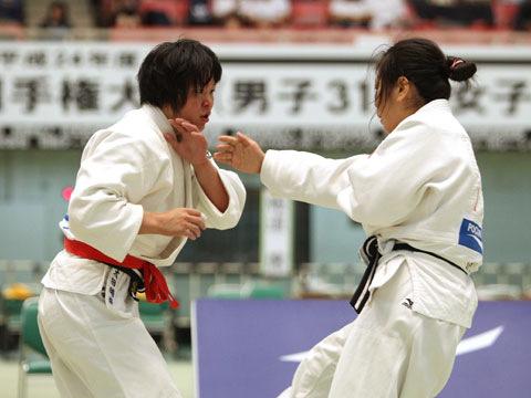 女子63kg級準決勝 太田晴奈−黒木和世�@