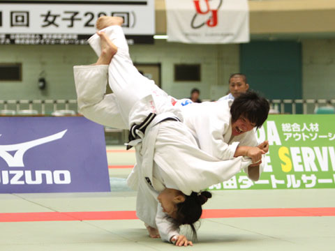 女子63kg級準決勝 太田晴奈−黒木和世�A