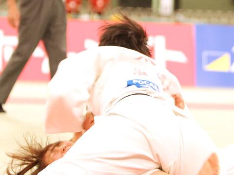 女子63kg級決勝 太田晴奈−大川愛�A