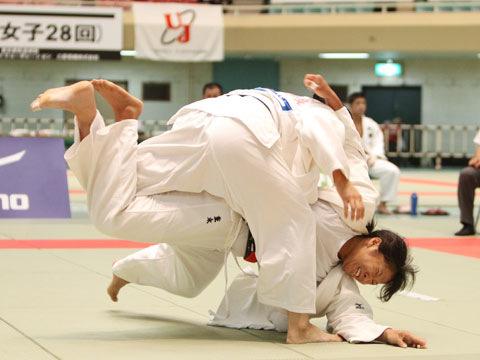 女子78kg級準決勝 西田香穂−重永聡美�@