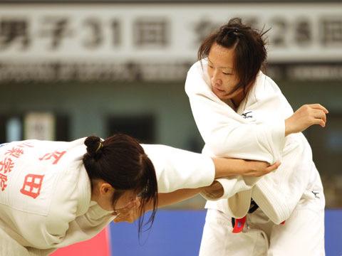 女子78kg級決勝 下田美紗季−西田香穂�@