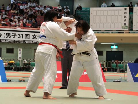 女子78kg超級準決勝 山部佳苗−畑村亜希�@