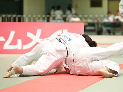 女子78kg超級準決勝 橋口ななみ−町純香�A