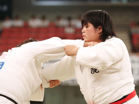 女子78kg超級決勝 山部佳苗−橋口ななみ�@