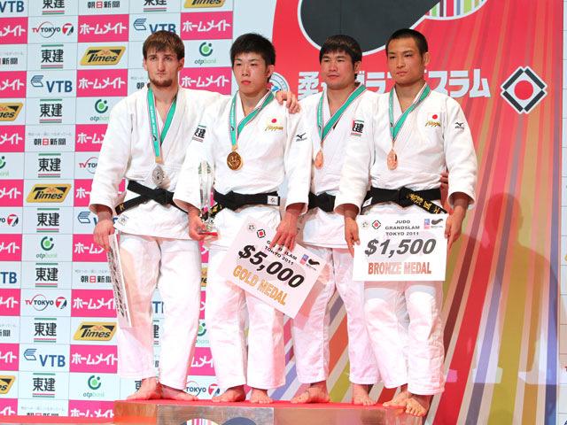 男子66kg級 表彰式