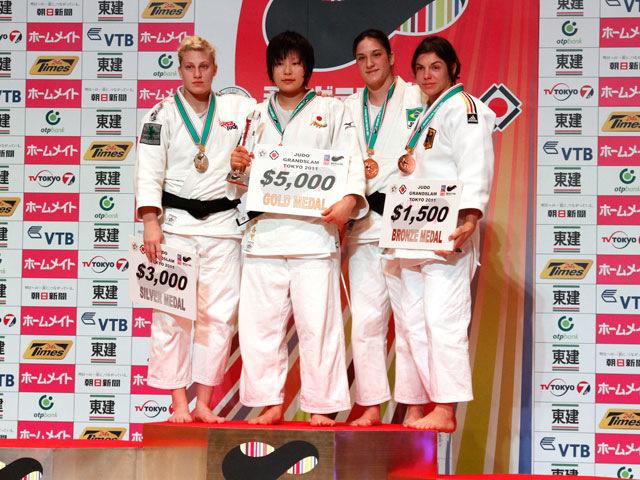 女子78kg級 表彰式