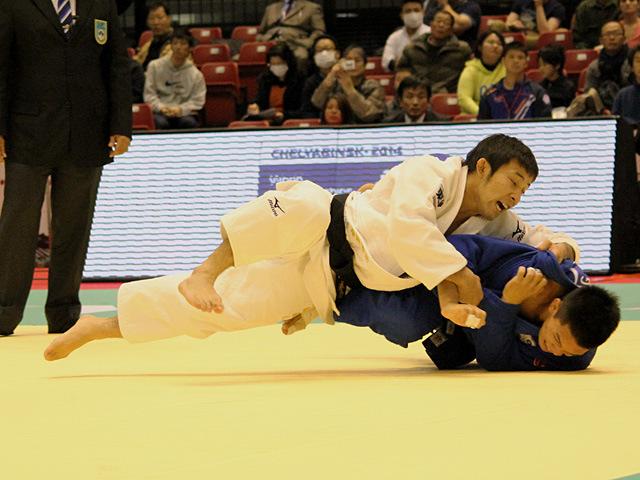 60kg級 高藤直寿 vs S.HUANG