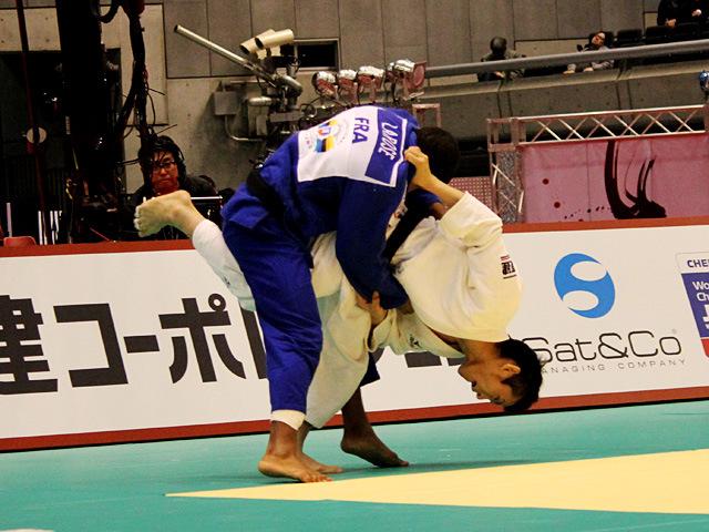 66kg級 福岡政章 vs D.LAROSE�A