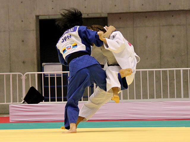 48kg級 森崎由理江 vs M.JEON