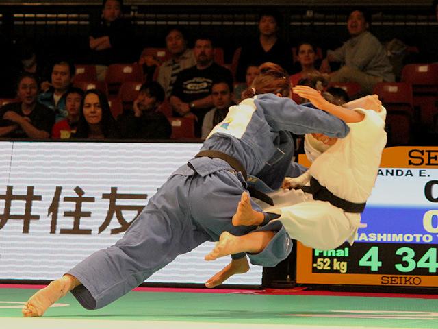 52kg級 橋本優貴 vs  E.MIRANDA