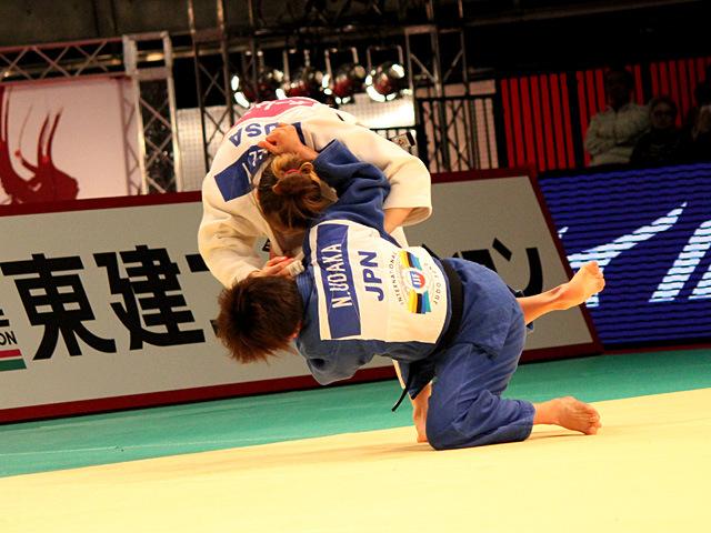 57kg級 宇高菜絵 vs M.MALLOY