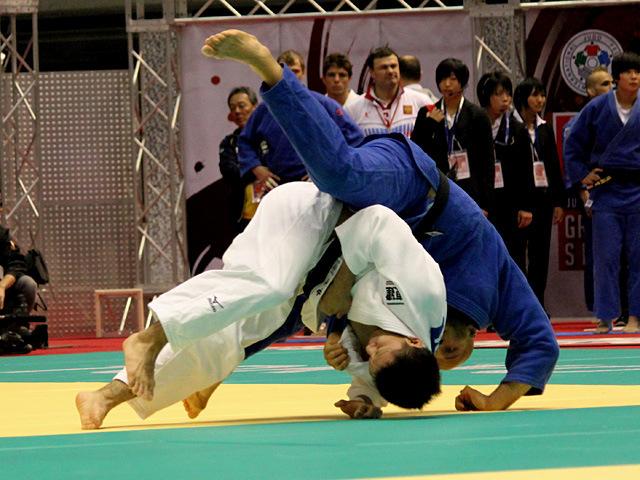 男子73kg級一回戦 中村剛教vsO.JANIV