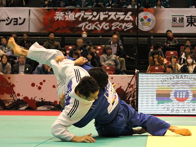 81kg級 川上智弘 vs W.HONG Suk