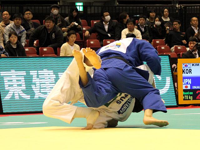 100kg級 増渕樹 vs A.BISULTANOV