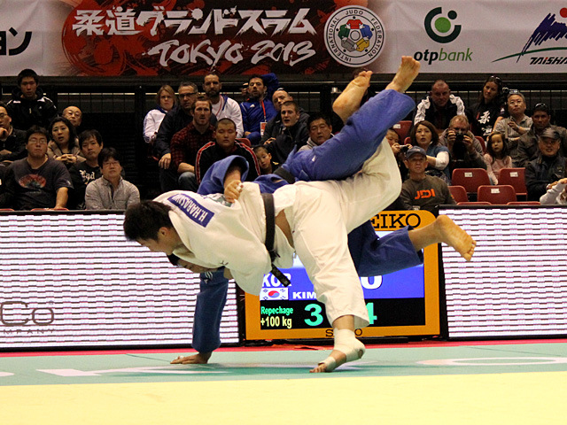 100kg超級 原沢久喜 vs S.KIM