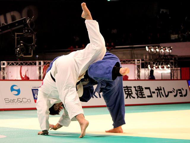 78kg超級 田知本愛 vs 山部佳苗