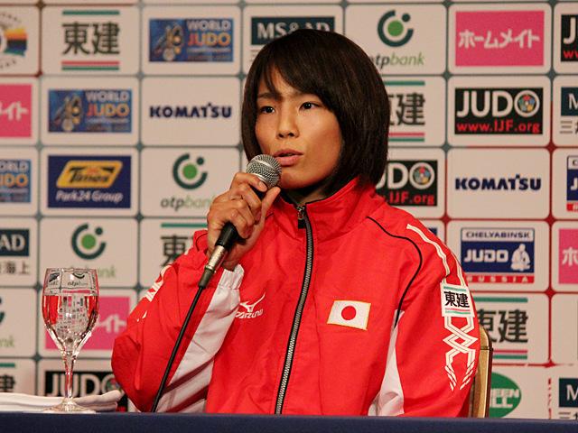 女子57kg級出場・松本薫選手
