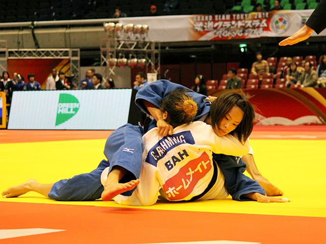 57kg級 松本薫 vs C.RAHMING