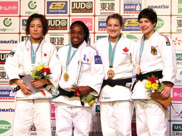 女子70kg級 表彰式
