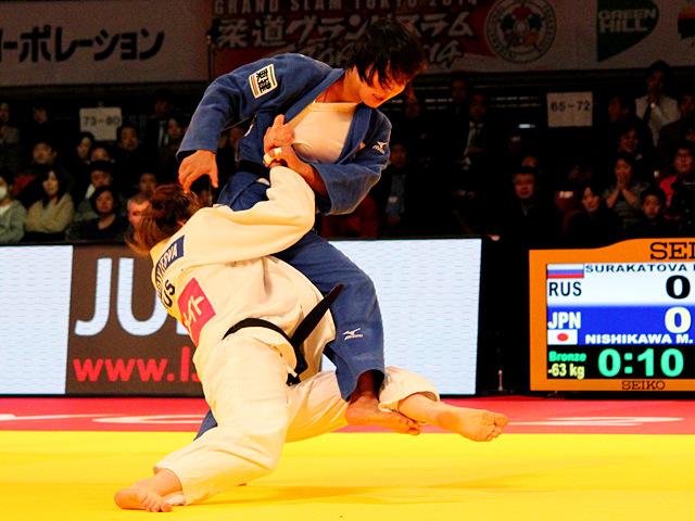 63kg級 西川真帆 vs P.SURAKATOVA