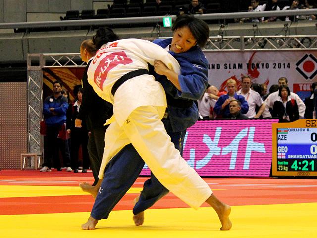 女子70kg級 2回戦 ヌンイラ華蓮vsY.ALVEAR