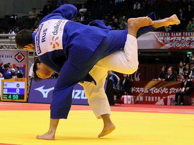 100kg級 羽賀龍之介 vs M.KOSYASHNIKOV
