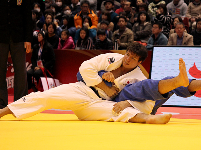 男子100kg超級 2回戦 七戸龍vsO.SASSON
