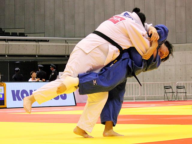 78kg超級 朝比奈沙羅 vs I.KINDZERSKA
