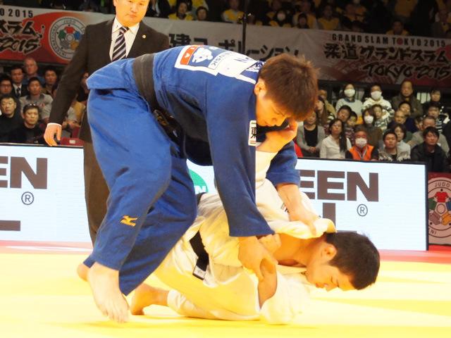 男子66kg級 3位決定戦 高市賢悟 vs 竪山将�@