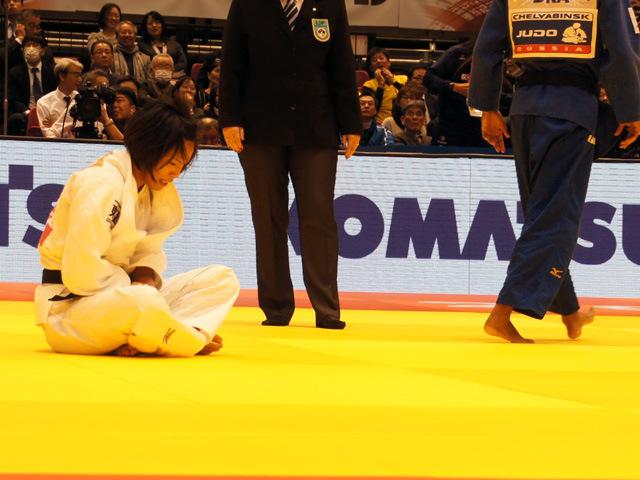 女子57kg級 2回戦 松本薫 vs R.SILVA