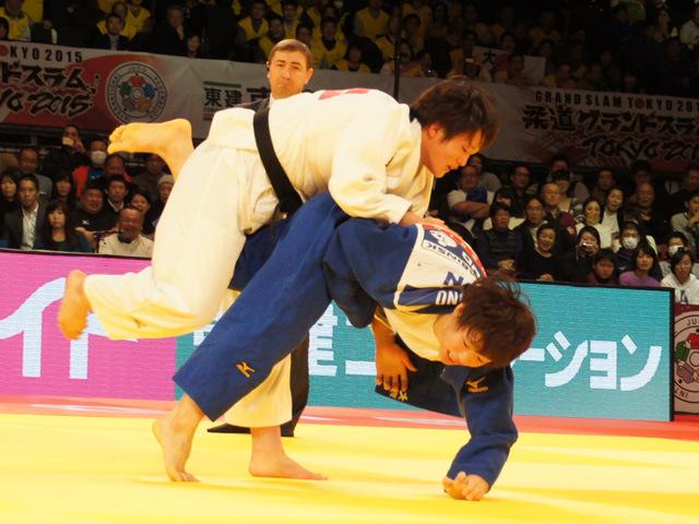 70kg級 新井千鶴 vs 大野陽子