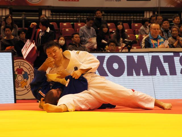 100kg超級 原沢久喜 vs J.BONVOISIN