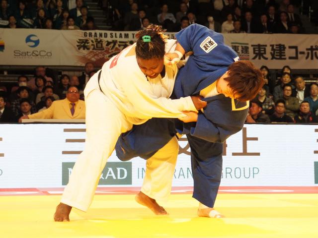 78kg超級 稲森奈見 vs I.ORTIZ