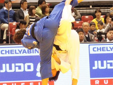 準々決勝 新井 千鶴 vs M.PEREZ�@