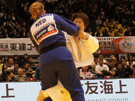 2回戦 稲森奈見 vs T.SAVELKOULS�@