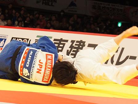 決勝 中村美里 vs 志々目愛�D