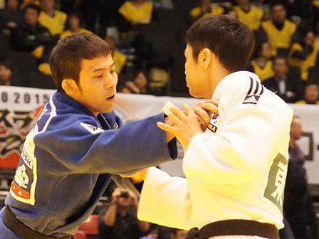 準決勝 高藤直寿 vs W.KIM�@