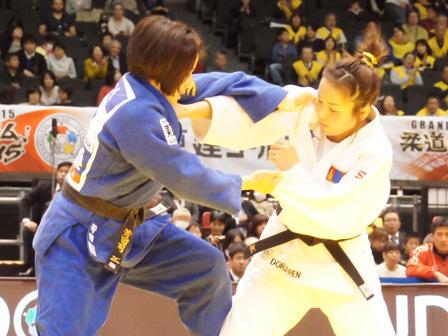 準決勝 芳田司 vs S.DORJSUREN�A